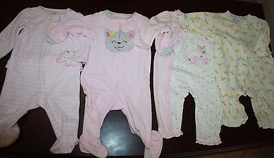 Lot of 4 Pcs Baby-Girl  -6-9 Months  Fall-winter