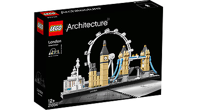 Brand New Lego Architecture London 21034 Sealed In Box