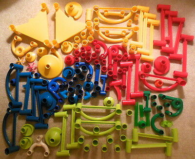 Huge Mixed Lot of Marbleworks Marble Run Playsets Building Toys 100+ Pieces