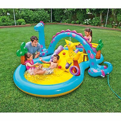 Kids Water Slide Swimming Pool Inflatable Intex Water Park Play Toys