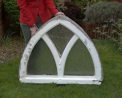 Gothic Arch , Painted Window and Frame