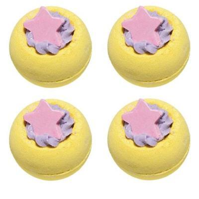 Bomb Cosmetics Starlight Express Bath Blaster 4 Pack FREE P&P