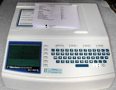 Mortara - Eli 150 RX Ekg Machine -New Patient Cable - Interpretaition - Warranty