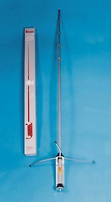 Classic High Gain 1/2 wave Silver Rod type Antenna Home Base CB Aerial