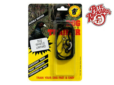 Pete Rickards New Dual Tone Dog Training Whistle Dog Bird Hunting - Dd640