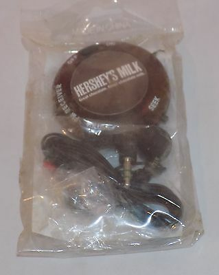 Rare Hershey's Chocolate Mini Radio New in Sealed Package - Collectible