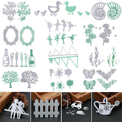 Metal Cutting Dies Stencil DIY Scrapbooking Album Paper Card Crafts Decor Gifts