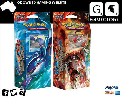 POKEMON TCG XY PRIMAL CLASH Theme Deck Bundle Kyogre & Groudon