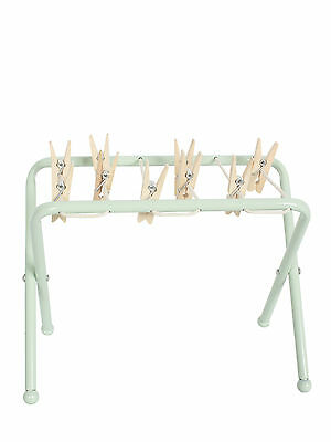 Maileg Miniature Furniture - Metal Clothes Post - Washing Airer Line w/Pegs