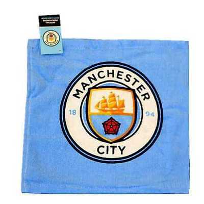 Manchester City Face Cloth / Flannel New Crest