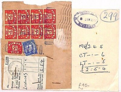 AU81 1964 GB Postage Due *KENT* {samwells-covers}PTS