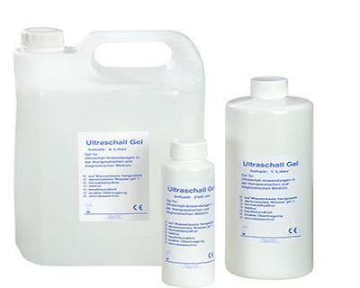 12 x Ultraschallgel  Ultraschall Gel Kontaktgel Gleitgel 1ltr., 1.000 ml. TOP!