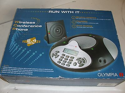 Olympia Wireless Conference Phone 2.4Ghz  New