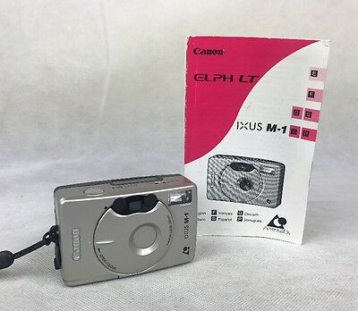 Canon Ixus M-1 Aps Film Camera 23Mm  Used Condition **free Uk P&p**