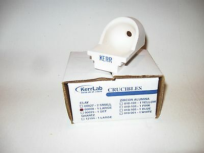 KerrLab  CLAY CRUCIBLE  # 00028 USED WITH KERR CASTING EQUIPMENT