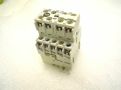 Allen-Bradley Relay 700-MB400 w/aux 120v coil 8 no contacts - 60 day warranty