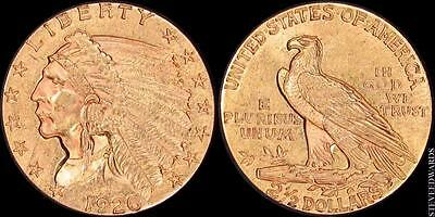 1926 Indian $2 1/2 Gold Quarter Eagle
