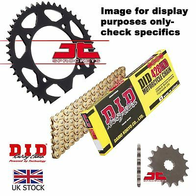 Honda MTX80 RII (R2) -Germany 87 on DID HD Gold Chain Kit 15/45t 428/126