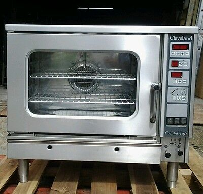 cleveland combi oven , electric convection and steamer , combicraft CCE-5