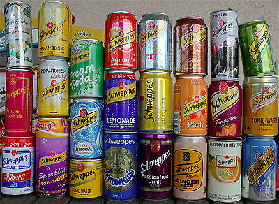 Schweppes Cans, Full Collection Lot #3