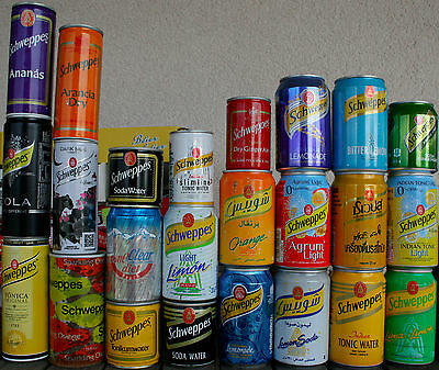 Schweppes Cans, Full Collection Lot #4