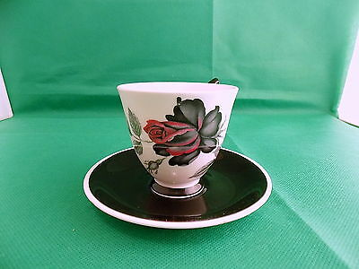Royal Albert Masquerade Coffee Cup & Saucer
