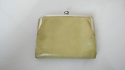 Hobo International Women's Green Leather Clutch Wallet Coin Purse