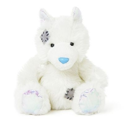 "Me To You 4"" Blue Nose Friends Collectors Plush - Tinsel the Arctic Fox - #123"