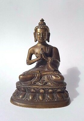 Antique statue Buddha 18-19 th century. Mongolia