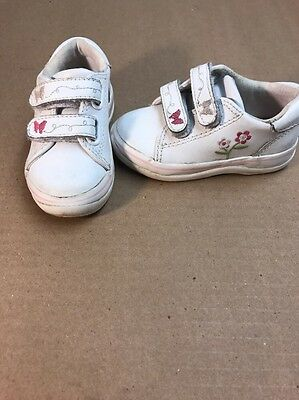 KEDS  White Leather Sneaker Toddler Shoes Girls' Size 5