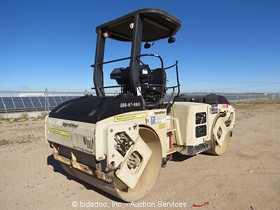 2006 Ingersoll Rand DD-70 Smooth Double Drum Vibratory Ride On Roller Compactor