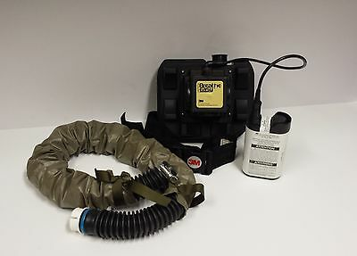 3m Breathe Easy Powered Air Purifying Respirator Turbo Unit w/ Battery & Hose