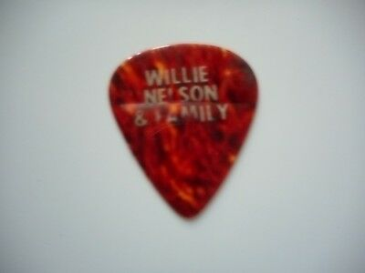 Willie Nelson Original Stage Used Guitar Pick Willie Nelson & Family Tour