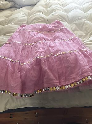Girls Pink Skirt Size Xl 14/16