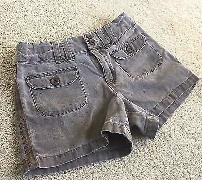 Cherokee Brand Girls Brown Shorts with Adjustable Waist Size 6/6X