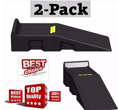 Car Ramps Portable Auto Ramp System 16000 lbs Gross Weight RV Truck Vehicle Lift