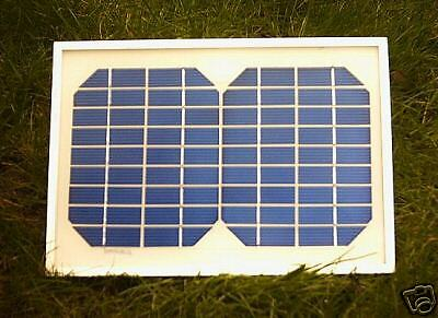 12V 5 Watt Solar Panel With Tamiya Connector  For Early Waverunner Baitboat