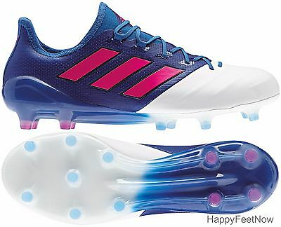 b695df7b Adidas Ace 17.1 Leather Fg Soccer Cleats Men's Size Us 7 Blue White Bb4321