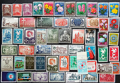 Mint Stamps From Luxembourgh One Stamp Worth The Bid