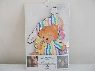 New Adorable Vintage Baby Teddy Beddy Bear Nursery Decor Wall Hangings by Dolly