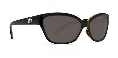 New Costa del Mar Starfish Polarized Sunglasses Black-Amber/Grey 580P Women