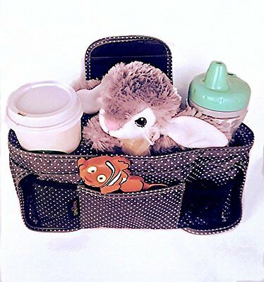 Lainey Bug Buggy Buddy Universal Fit Stroller Organizer Bag - Parent Console