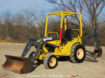 2010 Terramite T5C Backhoe Wheel Loader Hydraulic Utility Tractor Excavator