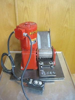 Thern Inc Electric Power Winch Helical Worm 1.2 Hp W/ Grinder Attachment 4771