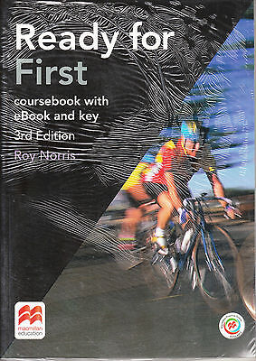 Macmillan READY FOR FIRST FCE 3rd Edit COURSEBOOK with Key & Extras Online +MPO