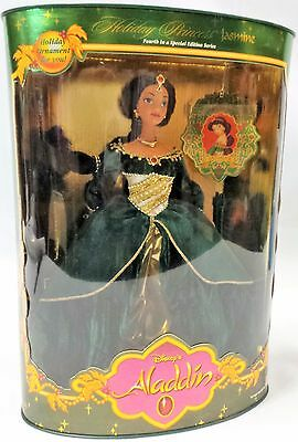 Mattel - Barbie Doll - 1999 Holiday Princess Jasmine Barbie *NM Box*