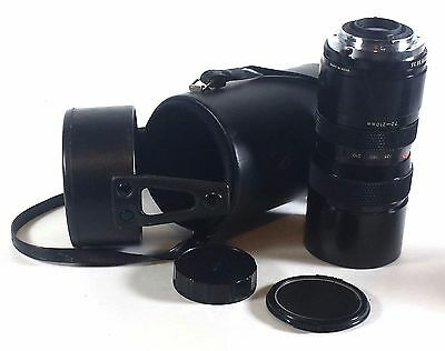 Access f=70-210mm 1:3.5 Camera Lens for Nikon Made in Japan Vintage