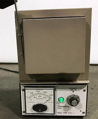 Thermo Scientific Thermolyne 1300  Benchtop Muffle Furnace FB1315M / 4 Mo Wrnty