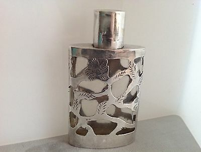 Vintage Sterling Perfume Bottle - Hecho En Mexico RYS