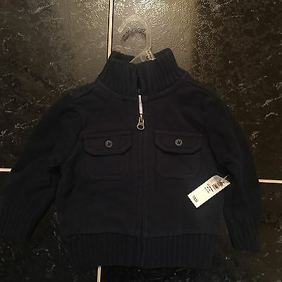 Old Navy Boys Sweater Navy Blue NWT 12-18 Months